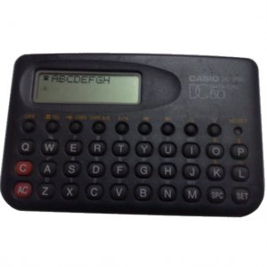 Casio DC200 Data Cal Phone Directory Vintage Calculator