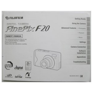 Fujifilm FinePix F20 Owner Manual User Guide