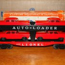 Lionel 6414 Evans Auto Loader (Type III, Red Cars w/Grey Bumpers) w/Original Box