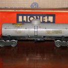 Lionel 2855 Sunoco One Dome Tank Car (Type III, Gray-Painted Version) w/Original Box