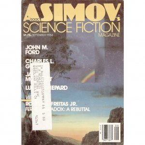 Asimov SF Sept 1984 w/ Ford Smith Cook Shepard Wylde
