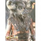 Xena/Hercules E8 Embossed card Minotaur
