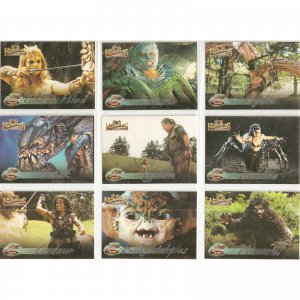 Hercules  M1 - M9 Mythical Beasts insert card set