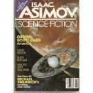 Asimov's SF Jan '87 w/ Orson S Card, Michael Swanwick