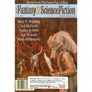 Fantasy & Sci Fi June 98 w/Finch Malzberg McDevitt