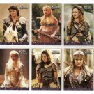 Xena Australian Preview 6-Card Set AU1-AU6 Season 4&5