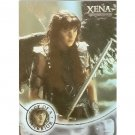 Xena Season 4 & 5 W6 Face of a Warrior insert card