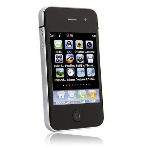 Fashionable 3.2 Inch LCD Dual SIM Card Touchscreen Quad Band Cellphone