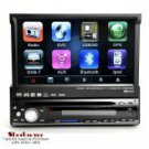 Shockwave - 7 Inch HD Touch Car DVD Player (GPS, DVB-T, MP4)