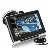 5 Inch Touchscreen Car GPS (Bluetooth, Wireless Camera)