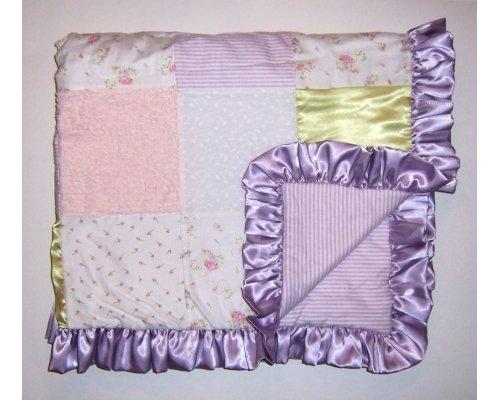 Satin Baby Crib Quilt