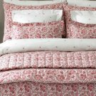 Floral Quilted Bedding Set