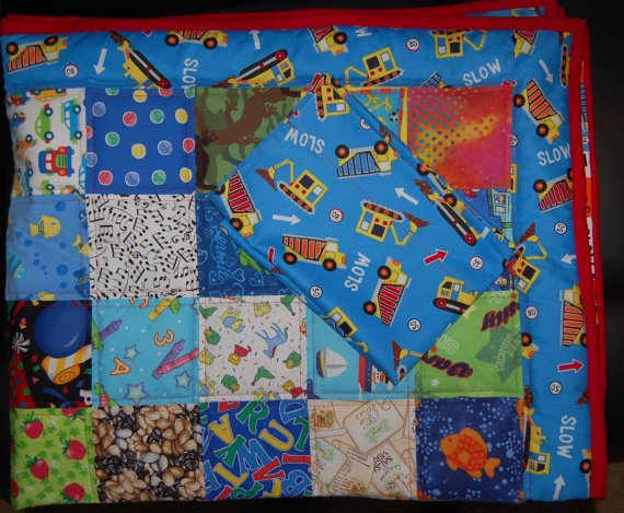 Made to Order Little Boys Bedroom Quilt