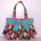 Flowers and Bows Handmade Handbag