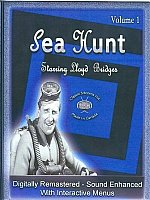 Sea Hunt Starring Lloyd Bridges-8 DVD Set-Volume 1-Interactive Menus, Chapter Stops