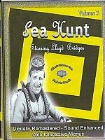 Sea Hunt Starring Lloyd Bridges-8 DVD Set-Volume 3-Interactive Menus, Chapter Stops
