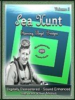 Sea Hunt Starring Lloyd Bridges-7 DVD Set-Volume 5-Interactive Menus, Chapter Stops