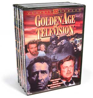 Golden Age of Television, Volumes 1-5 (5-DVD)