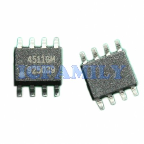 10pcs APEC AP4511GM 4511GM N and P-Channel Enhancement Mode Power MOSFET