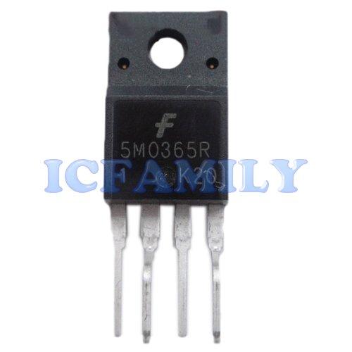 10pcs Fairchild KA5M0365RYDTU 5M0365R TO-220F-4L Forming FPS Fairchild Power Switch