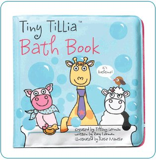 Tiny Tillia Bath Book