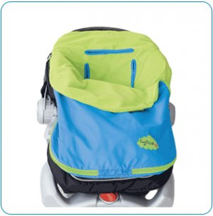Tiny Tillia Blue Pack and Ride - Personalizable