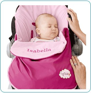 Tiny Tillia Pink Pack and Ride - Personalizable