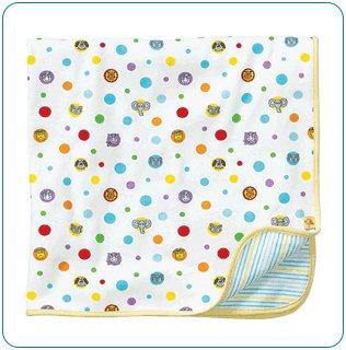 Tiny Tillia Yellow Receiving Blanket - Personalizable