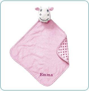 Tiny Tillia TT Cow Huggable Security Blanket