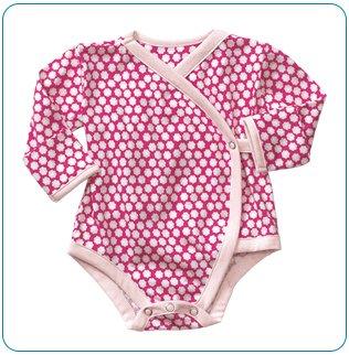 Tiny Tillia Pink Nail Protector Bodysuit (0-3 months)