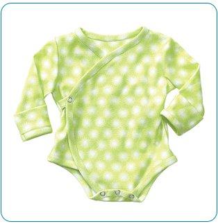 Tiny Tillia Green Nail Protector Bodysuit (3-6 months)