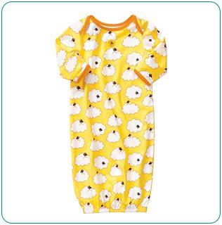 Tiny Tillia Sleeper in Yellow (6-9 months)