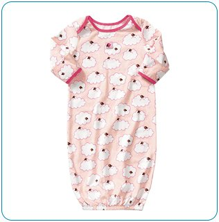 Tiny Tillia Sleeper in Pink (6-9 months)