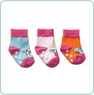 Tiny Tillia Pink Novelty Sock Set (0-12 months)