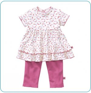 Tiny Tillia Playsuit Ruffle Top + Legging (12-18 months)