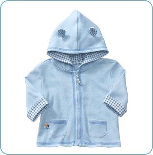 Tiny Tillia Blue Hoodie Jacket (0-3 months)