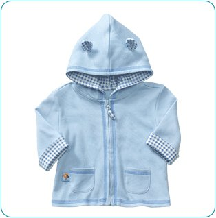 Tiny Tillia Blue Hoodie Jacket (3-6 months)