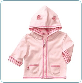 Tiny Tillia Pink Hoodie Jacket (0-3 months)