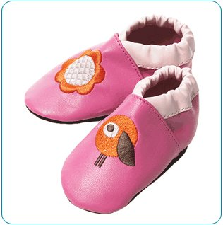 Tiny Tillia Pink Soft Shell Shoes (0-6 months)