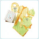 Tiny Tillia Green 5-Piece Layette Set (0-3 months)