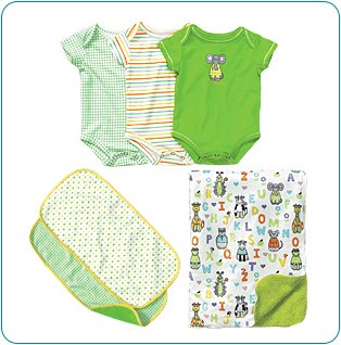 Tiny Tillia Green Bedtime Bundle (9-12 months)