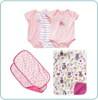 Tiny Tillia Pink Bedtime Bundle (9-12 months)