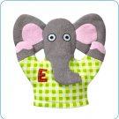 Tiny Tillia Austin Elephant Bath Mitt