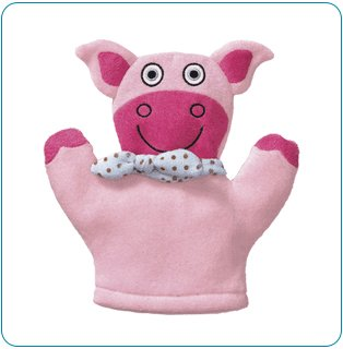 Tiny Tillia Dilly Pig Bath Mitt