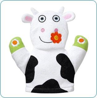 Tiny Tillia TT Cow Bath Mitt