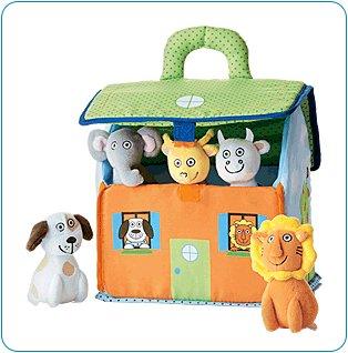 Tiny Tillia Plush House