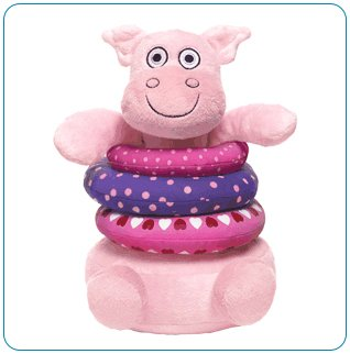 Tiny Tillia Dilly Pig Animal Stacker