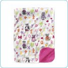 Tiny Tillia Pink ABC Gift Blanket