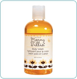 Mommy Tillia Body Wash - Tiny Tillia Avon