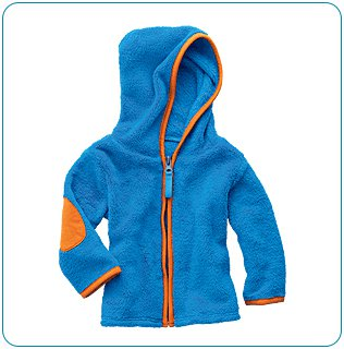 Tiny Tillia Blue Soft Fleece Jacket (6-12 months)